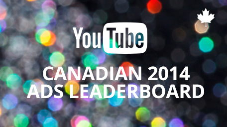 Year-End 2014 Canadian YouTube Ads Leaderboard