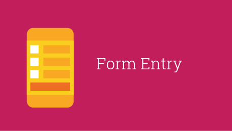 Chapter 5: Form Entry